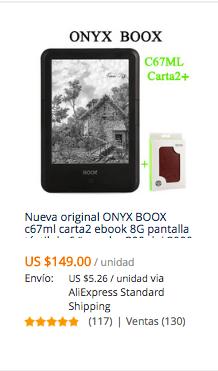 Comprar lector de libros electrónicos Kindle en AliExpress