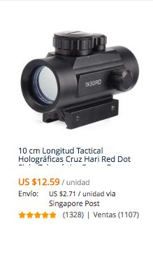 comprar mira telescopica en aliexpress