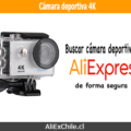 Comprar cámara deportiva 4k barata en AliExpress