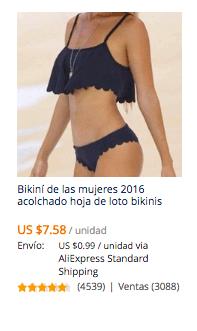 comprar bikinis en aliexpress desde chile