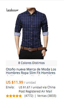 comprar camisas para hombre baratas en aliexpress