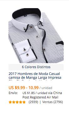 comprar camisas baratas para hombre en aliexpress