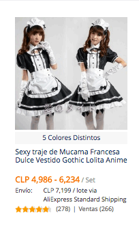 comprar disfraces para halloween en aliexpress