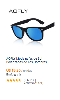 comprar gafas baratas para hombre en aliexpres