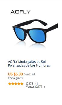 comprar gafas baratas en aliexpress
