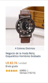 comprar reloj barato en china