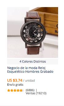comprar reloj barato en aliexpress