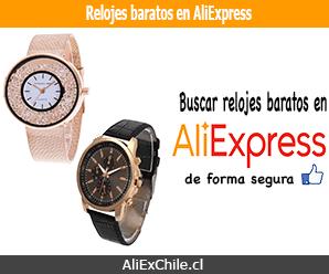 Cómo buscar y comprar relojes baratos en AliExpress