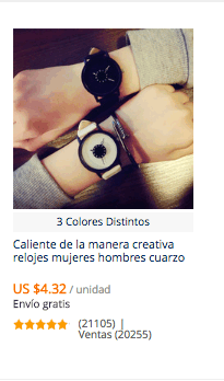 comprar relojes baratos en china