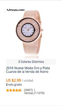 comprar relojes baratos mujer en aliexpress