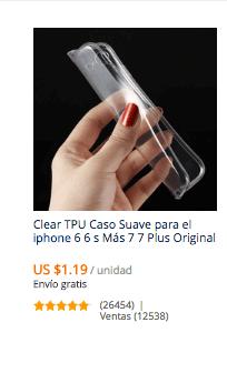 comprar carcasa iphone 8 en aliexpress