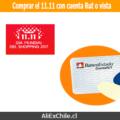 ¿Cómo comprar el 11.11 de AliExpress con cuenta rut o cuenta vista?