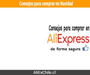 Consejos de Correos de Chile para compras navideñas en AliExpress