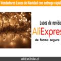 Vendedores luces de navidad en AliExpress con entrega rápida a Chile