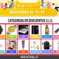 11.11 en AliExpress: Conoce las categorías con descuentos