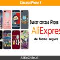 Guía cómo buscar y comprar carcasa para iPhone X en AliExpress