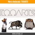 Marca destacada: TOOARTS decoración artesanal para el hogar