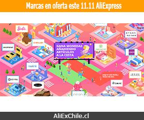 11.11 en AliExpress: Conoce las marcas con descuentos