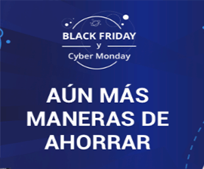 ¡Black Friday y Cyber Monday en AliExpress!