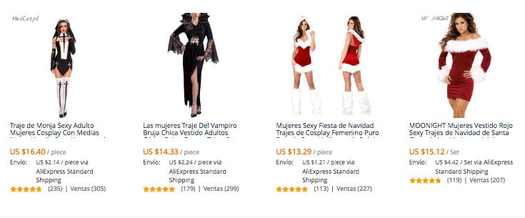 f6fbd115e3743 Disfraces para mujer más vendidos en AliExpress