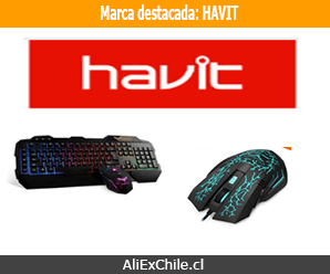 Marca destacada: HAVIT Mouse y Teclados para Gamers