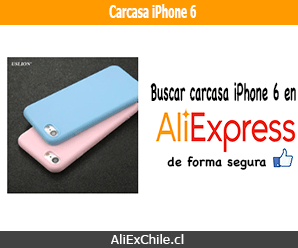 Comprar carcasa para iPhone 6 en AliExpress