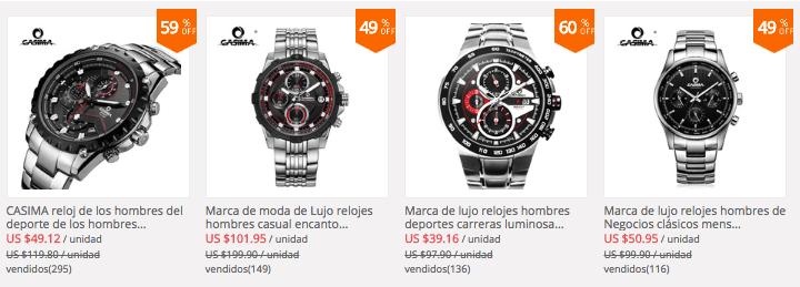 5510e0314c39 Marca destacada  CASIMA relojes para hombre y mujer