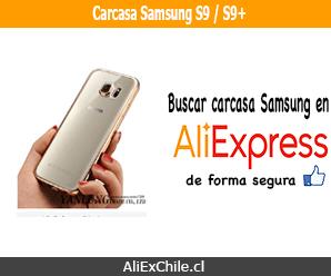 Comprar carcasa para celular Samsung S9 o S9+ en AliExpress