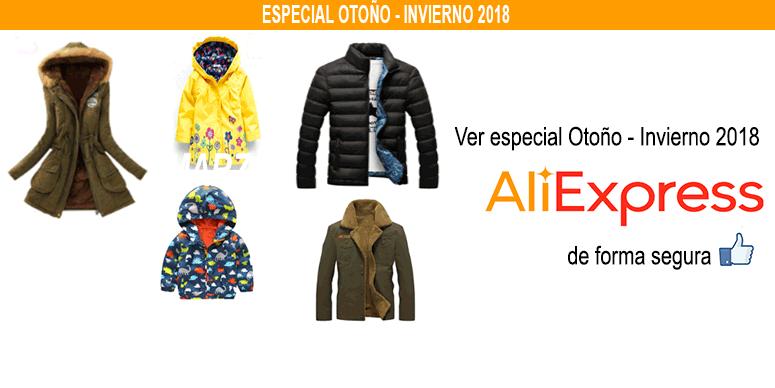 Especial Otoño – Invierno 2018 en AliExpress Chile