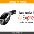 Comprar transmisor FM bluetooth en AliExpress