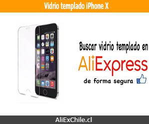 Comprar vidrio templado para iPhone X en AliExpress