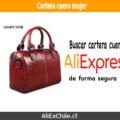 Comprar cartera de cuero para mujer en AliExpress
