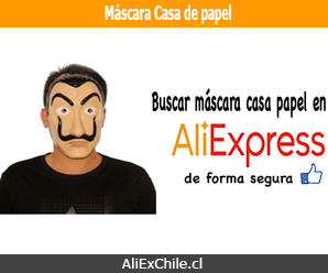"""Comprar máscara """"La casa de papel"""" (Salvador Dalí) en AliExpress"""