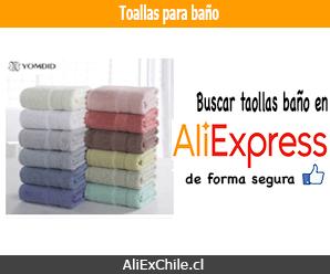Comprar toallas para baño en AliExpress