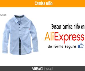 Comprar camisa para niño en AliExpress