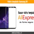 Comprar vidrio templado para samsung S9 y S9+ en AliExpress