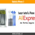 Comprar batería para iPhone 5 en AliExpress