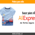 Comprar polera para niño en AliExpress desde Chile