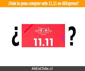 ¿Vale la pena comprar el 11.11 este año 2018 en AliExpress?