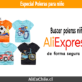 Especial poleras para niño verano 2019 en AliExpress