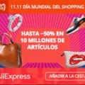 Comienza el 11.11 2018 en AliExpress