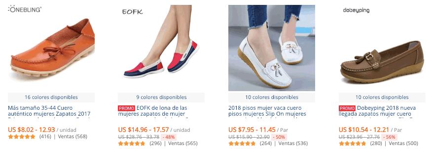 Mocasines para mujer más vendidos en AliExpress c664faa2af7b