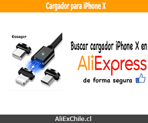 Comprar cargador para iPhone X en AliExpress