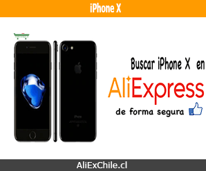 Comprar iPhone X en AliExpress