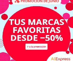 ¡Ofertas de mitad de año en AliExpress desde el 17 junio al 24 de junio!
