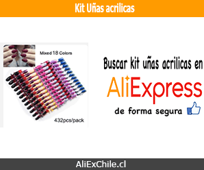 Comprar kit uñas acrilicas en AliExpress