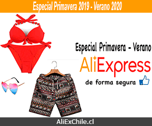 Especial Primavera 2019 – Verano 2020 Chile en AliExpress