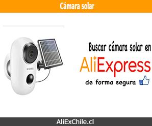 Comprar cámara solar en AliExpress