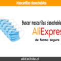 Comprar mascarillas desechables en AliExpress