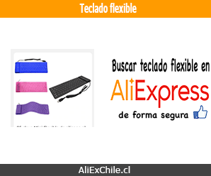 Comprar teclado flexible en AliExpress